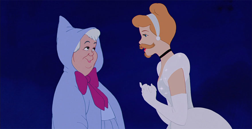 14095575581247 disney princesses with beards 10 Check Out These Disney Princesses with a Twist...or Well a BEARD!!