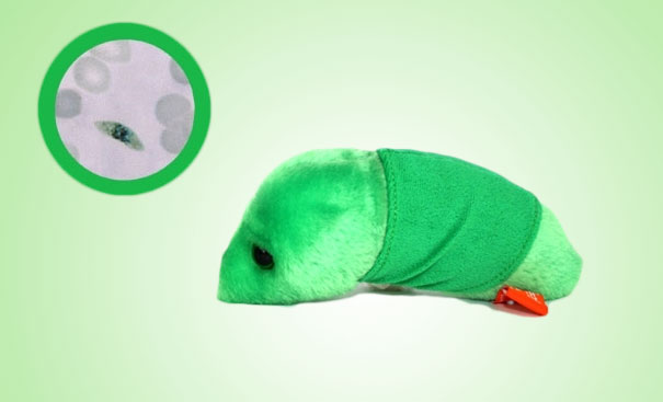 14095575797498 Plush Microbes Malaria Giant Plush Microbes and Cells