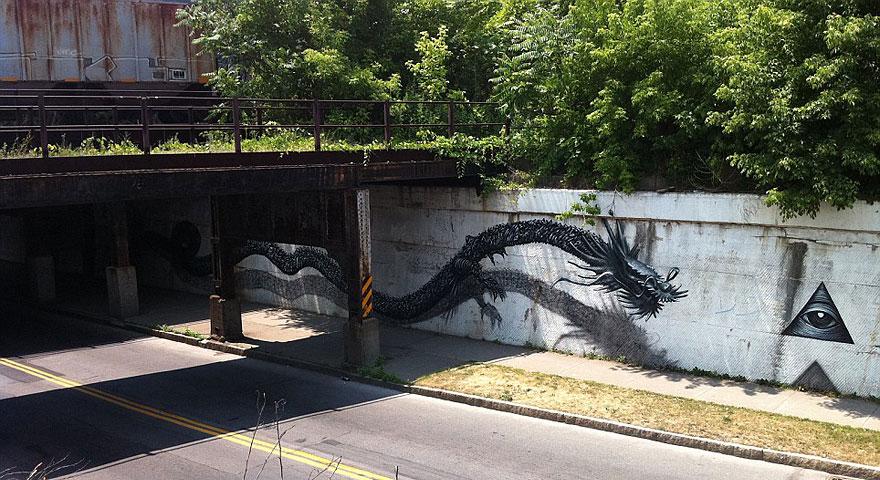 14095578986897 street art DALeast 10 Never seen before street art by Traveling Chinese Artist DALeast