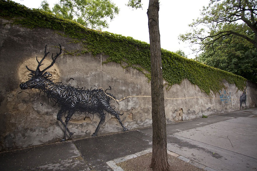 14095579062679 street art DALeast 13 Never seen before street art by Traveling Chinese Artist DALeast