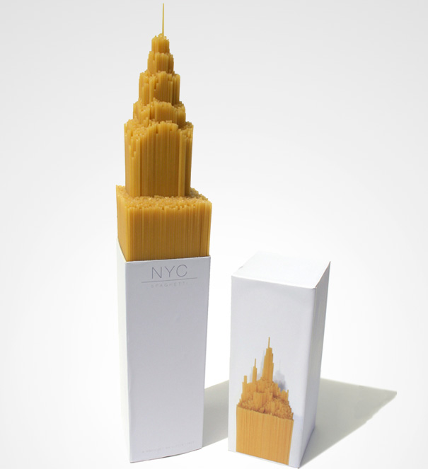 14095585872675 creative packaging nyc spaghetti 3 You Wont Be Able To Resist Buying These Products. Amazing Packaging!