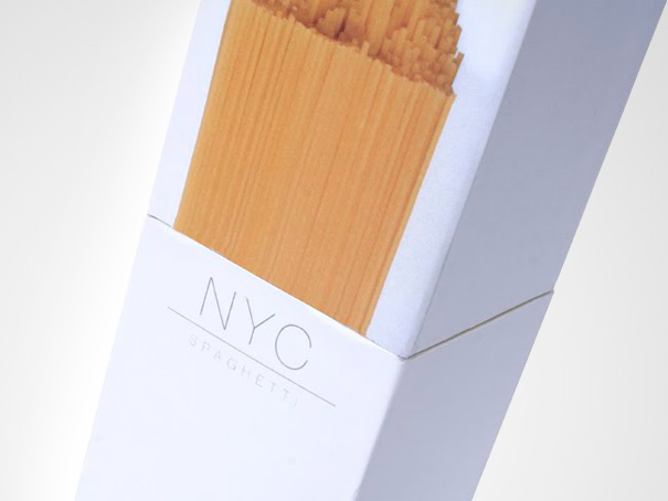 14095585882577 creative packaging nyc spaghetti 1 You Wont Be Able To Resist Buying These Products. Amazing Packaging!