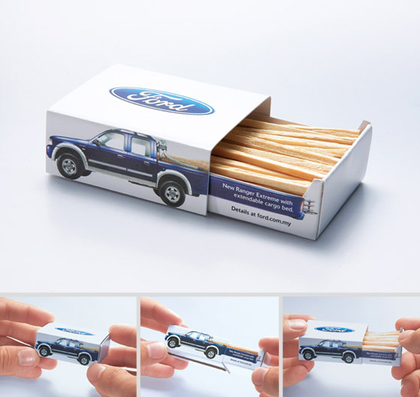 14095586231555 creative packaging 2 ford matches You Wont Be Able To Resist Buying These Products. Amazing Packaging!