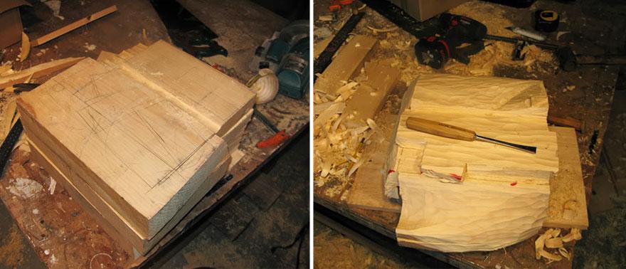 14095586336694 realistic wood sculptures box of cash randall rosenthal 3 How Randall Rosenthal Turned Some Wood Into A Box Full Of Cash