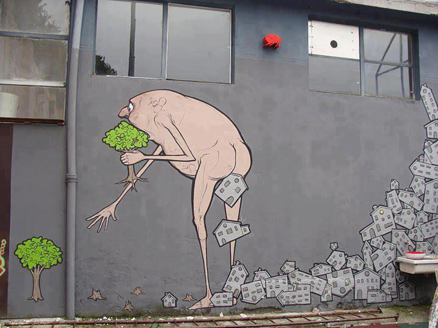 10 Awesome Pictures Of Street Art That Will Leave You Amazed!
