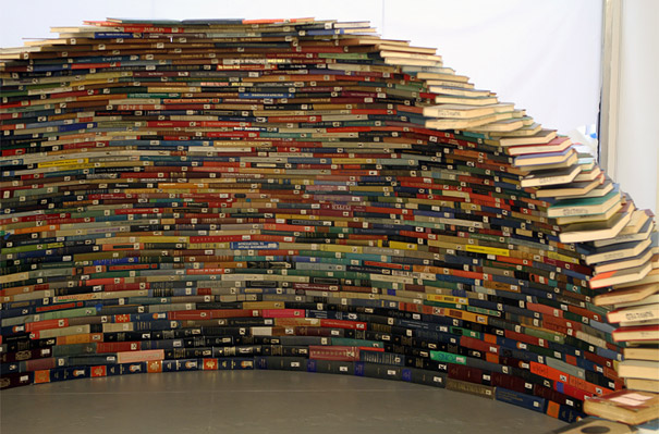 14095591647041 book igloo miler lagos 4 Avid Book lovers will be mesmerized by this! An Igloo made using Books!