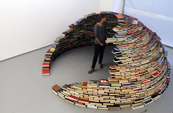 14095591649773 book igloo miler lagos 6 Avid Book lovers will be mesmerized by this! An Igloo made using Books!