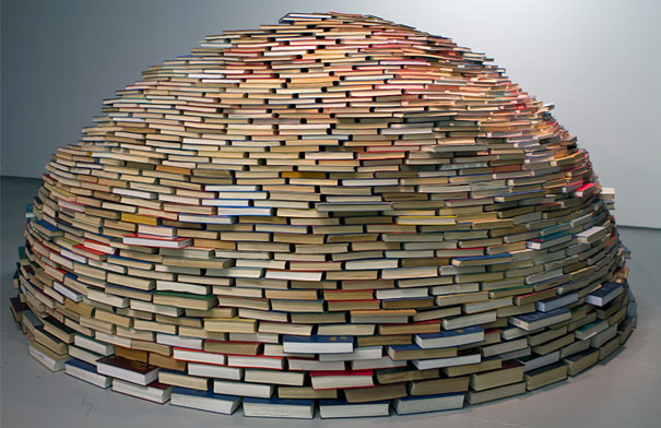 14095591683267 book igloo miler lagos 1 Avid Book lovers will be mesmerized by this! An Igloo made using Books!