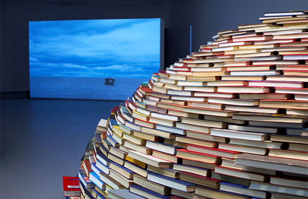 14095591685770 book igloo miler lagos 2 Avid Book lovers will be mesmerized by this! An Igloo made using Books!