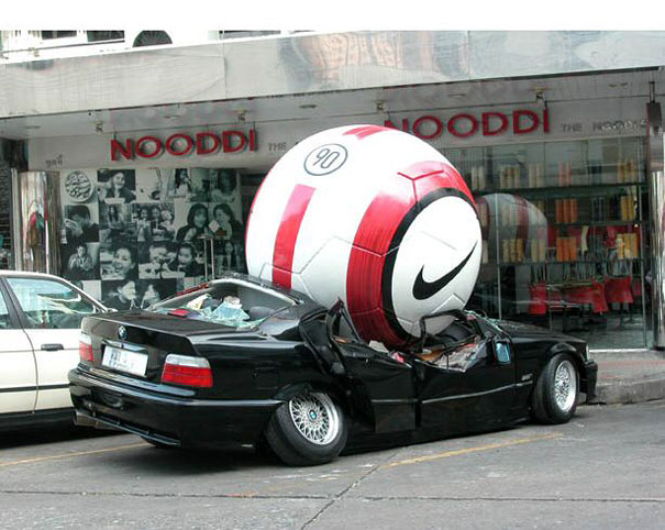14095592386507 large scale objects nike football 3 This Is How Ads Should be Made. Incredibly Creative!