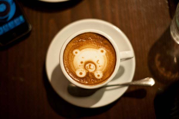 14095592761434 latte art10 These 23 Latte Images are a treat for Coffee Lovers. Warning: DO NOT DRINK!!