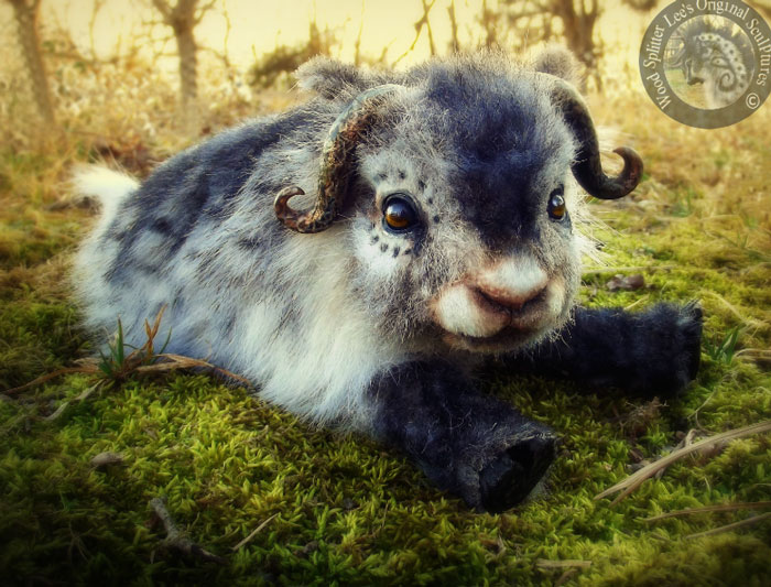 14095617751698 realistic plush animal toys wood splitter lee creations 58 Incredibly Realistic Baby Animal Toys By Lee Cross