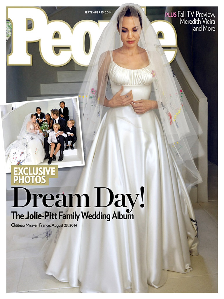 image Brad Pitt and Angelina Jolie Wedding Photos Finally Revealed