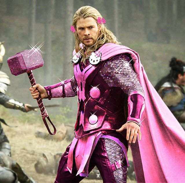 image52 Marvel and DC Superheroes Trade Masculine Costumes For Hello Kitty fied Super Suits