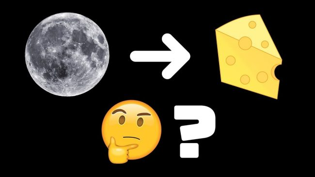 Is Moon Made of Cheese 650x366 Is The Moon Made of Cheese? The notion and NASAs joke