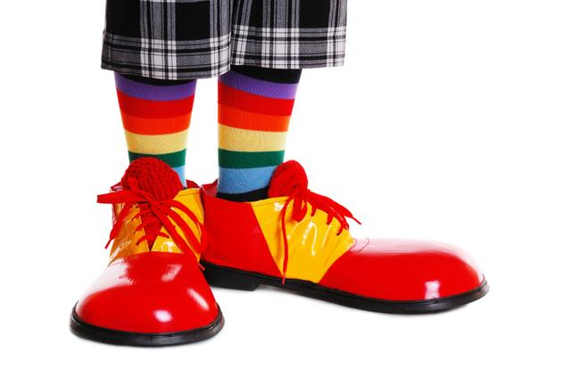 39 istock 000040869644 small Whats With Huge Clown Shoes?