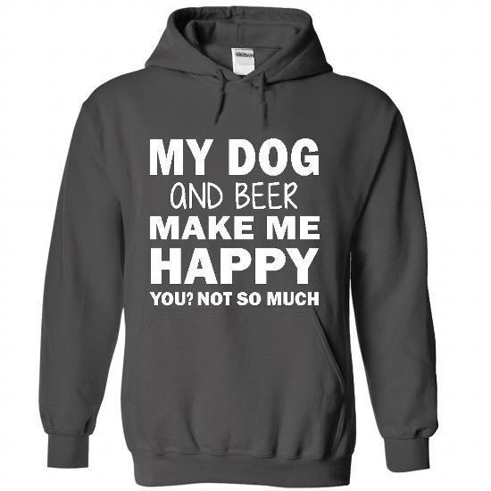17 my dog and beer 21 T Shirts Every Dog Owner Must Have!