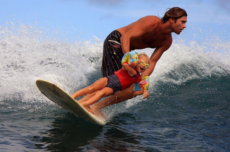 fatherhood youre doing it right 15 guys that get it 14 10 Dads Who Are Doing Fatherhood Correctly