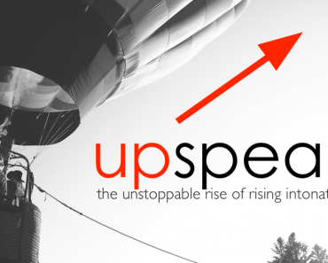 What is upspeak?