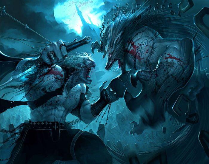 Vampires vs Werewolves Who would win Vampires vs Werewolves   Who would win?